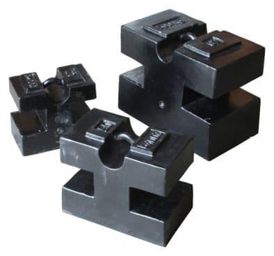 Cast Iron Block Calibration Weights