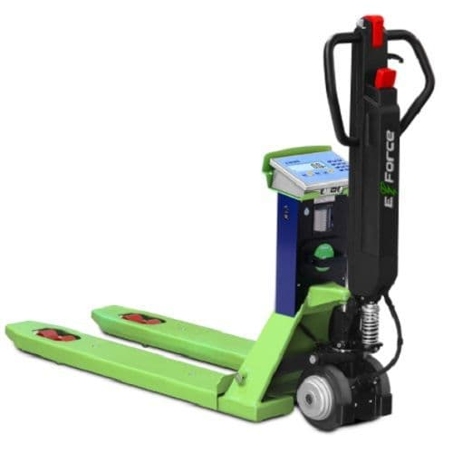 Dini Argeo | TPW E-Force Electric Pallet Truck Scale | Oneweigh.co.uk