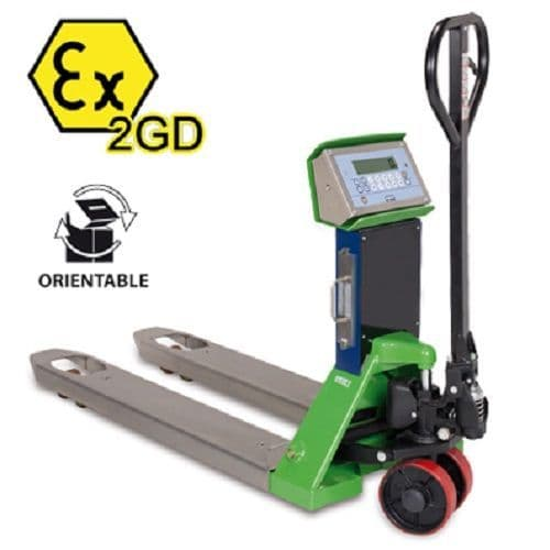 Dini Argeo TPWEX2GD Trade Approved Pallet Truck Scale