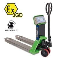 Dini Argeo TPWEX3GD Trade Approved Pallet Truck Scale