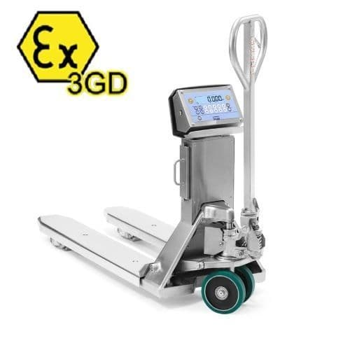 Dini Argeo TPWIEX3GD Stainless Steel Pallet Truck Scale
