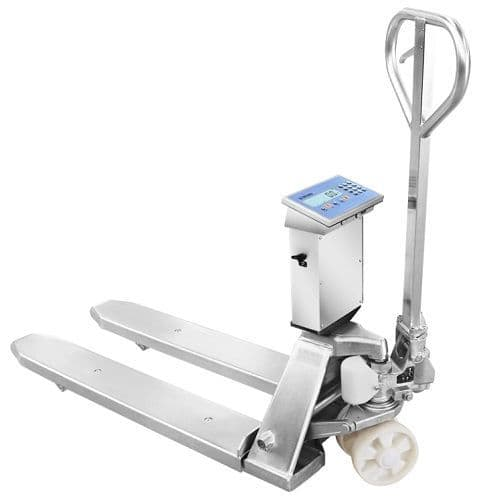 Dini Argeo | TPWLKI Stainless Steel Pallet Truck Scale | Oneweigh.co.uk