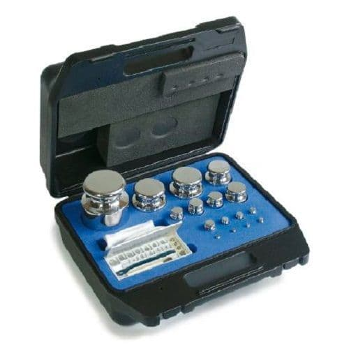 E2 OIML Stainless Steel Calibration Weight Sets - Plastic Box