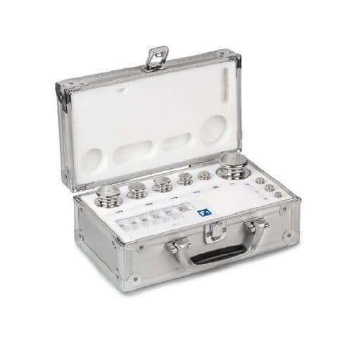 F1 OIML Stainless Steel Calibration Weight Sets - Aluminium Protected Case