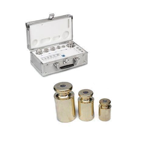 M1 Brass Calibration Weight Sets - Aluminium Protective Case