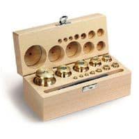 M1 Brass Calibration Weight Sets - Wooden Box