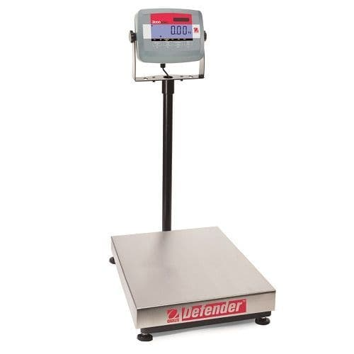 Ohaus Defender 3000 Trade Approved Floor Scales