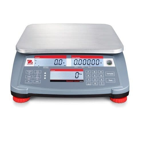 Ohaus Ranger 3000 Trade Approved Counting Scale