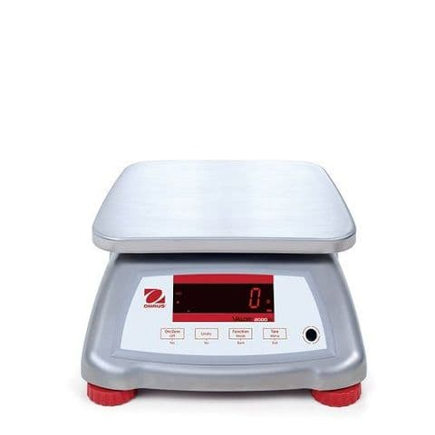 Ohaus | Valor 2000 IP68 Stainless Steel Bench Scale | Oneweigh.co.uk