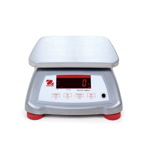 Ohaus Valor 4000 Stainless Steel IP68 Bench Scale