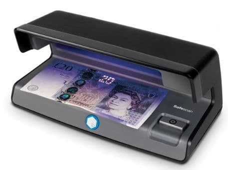 Safescan 50 Counterfeit Detector - Black