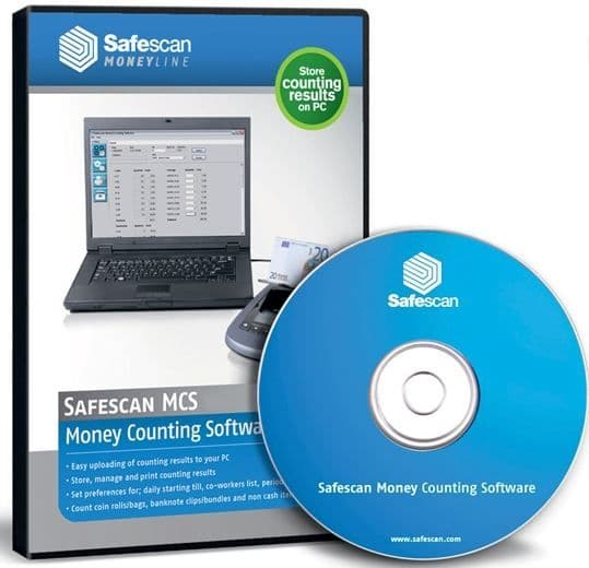Safescan Money Counting Software for 6155 Coin Counter MCS 3.2
