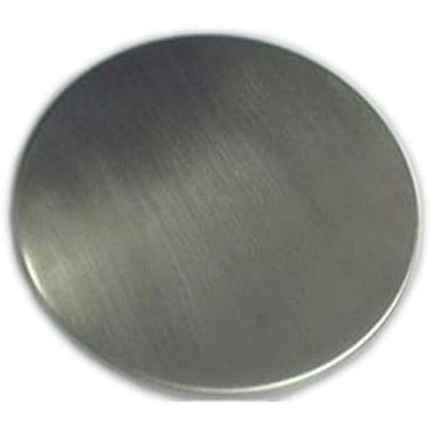 Stainless steel pan cover for CL. Reduces capacity by 80g