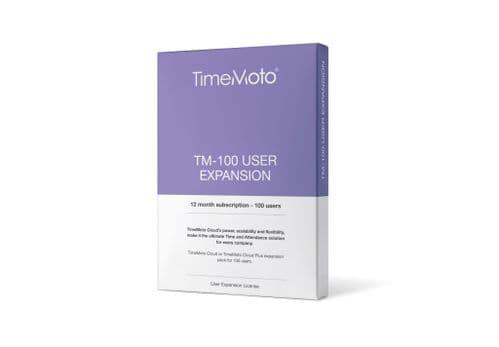 TimeMoto Cloud Software User Expansion Packs