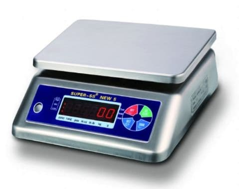 Bench Scales | Yantai Super SS-6 IP68 Bench Scale | Oneweigh.co.uk