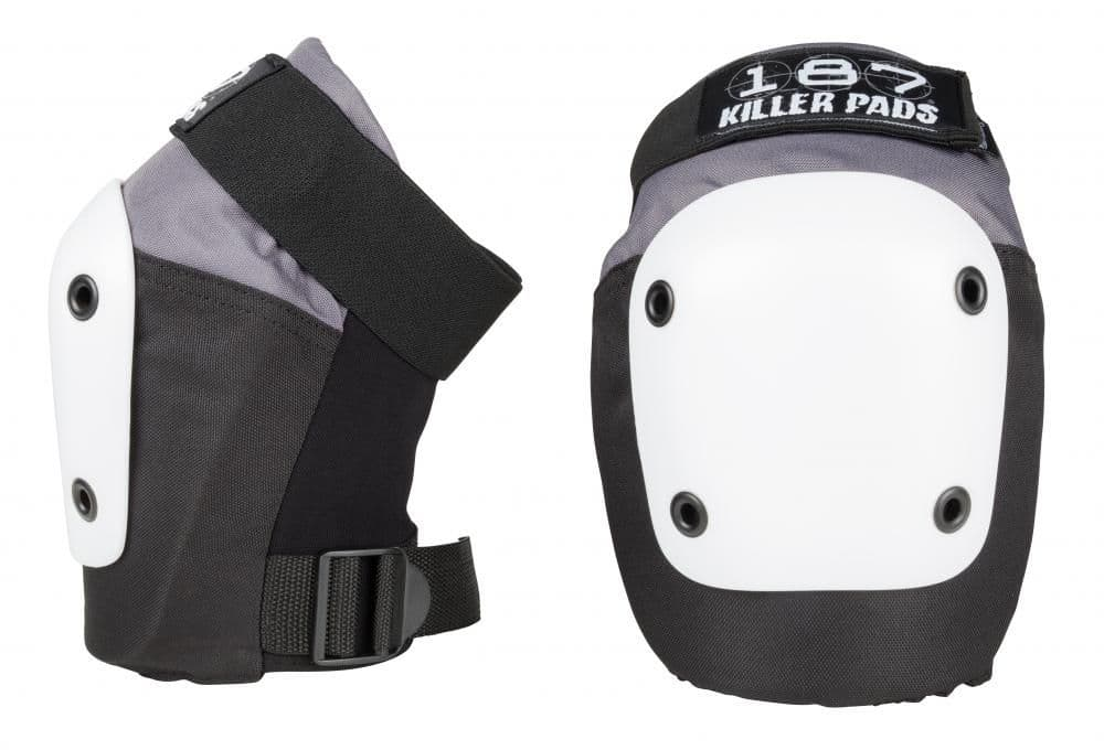 187 fly knee pads - Black / White