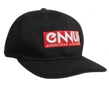 Ennui Cap - Black / Red