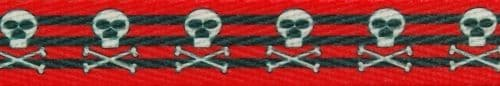 Fat Skull Roller Derby Laces