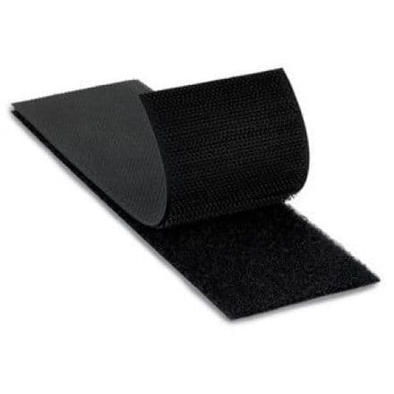Black Self Adhesive Hook 50mm Wide