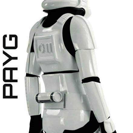 Original Stormtrooper Armour  - Battle  Spec MK3 - The Pay As You Go Saga Edition