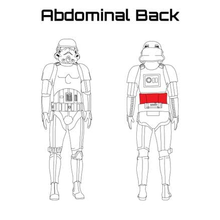 ORIGINAL STORMTROOPER ARMOUR PARTS [Abdominal Back]